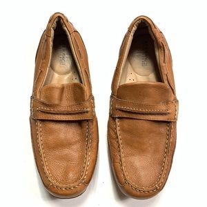 Sperry top sider penny leather penny loafers 8.5